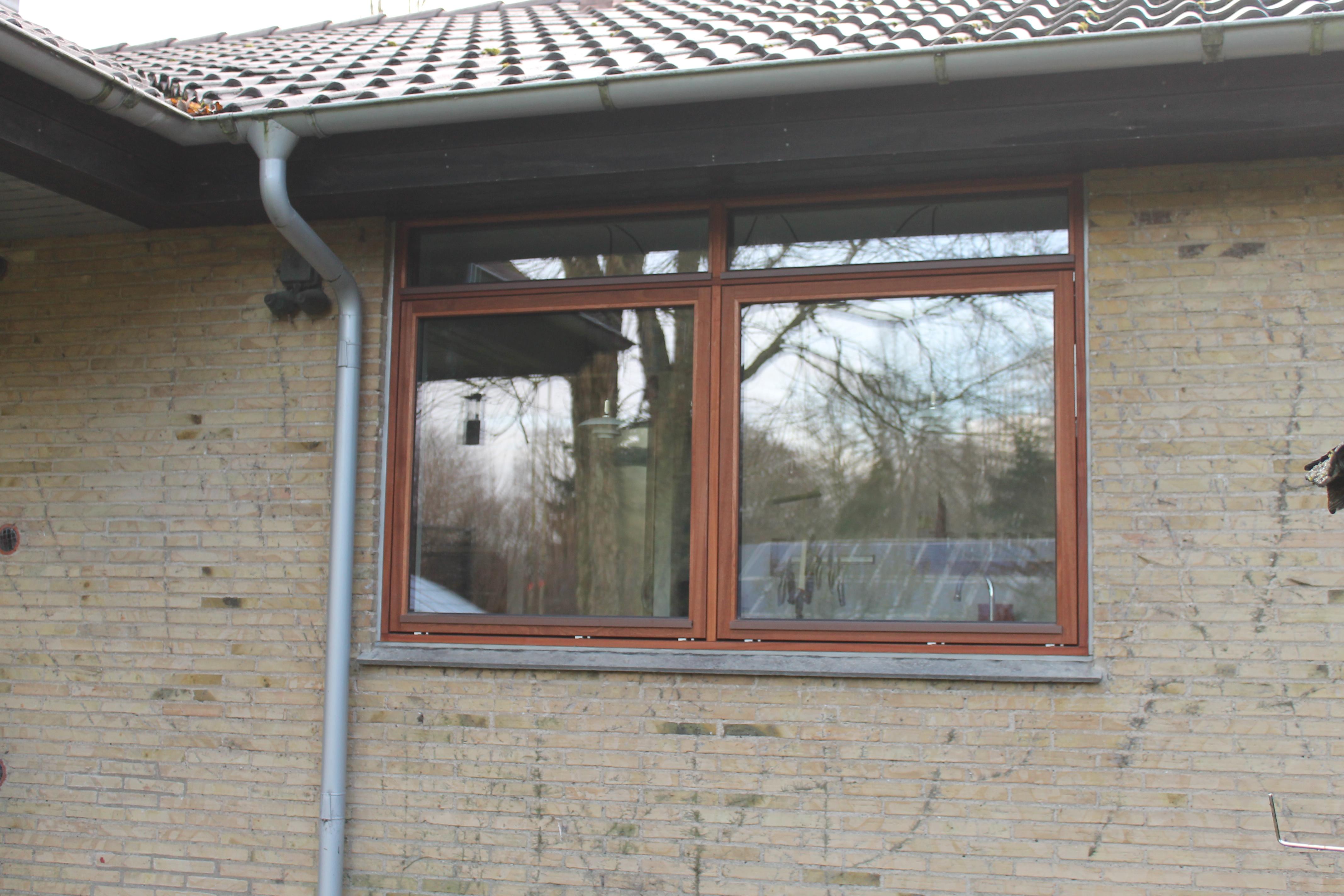 træ vinduer unik løsning