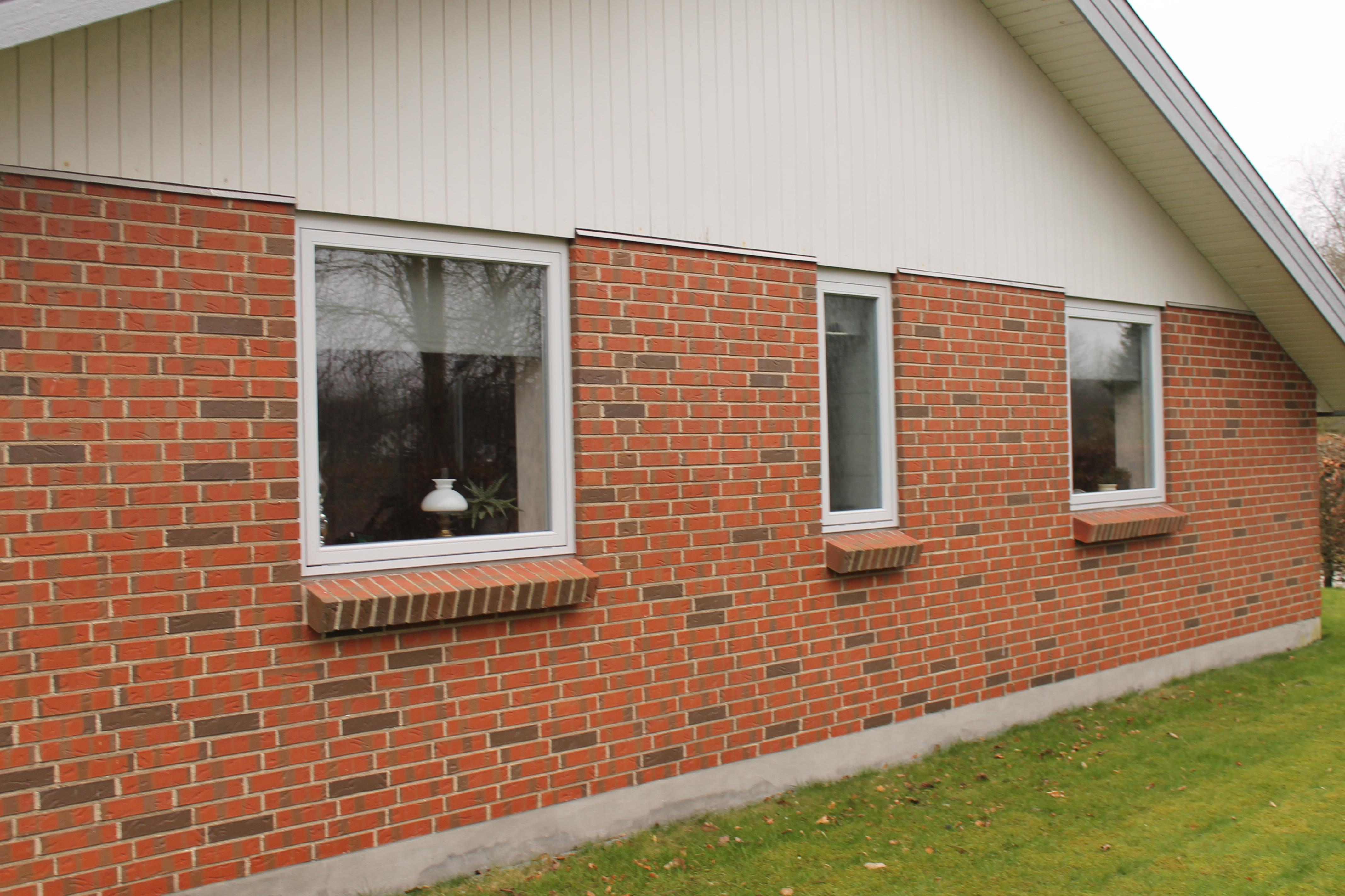 udskiftning af hvide vinduer